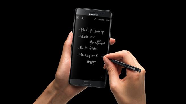 或售5999元,三星Galaxy Note7发布