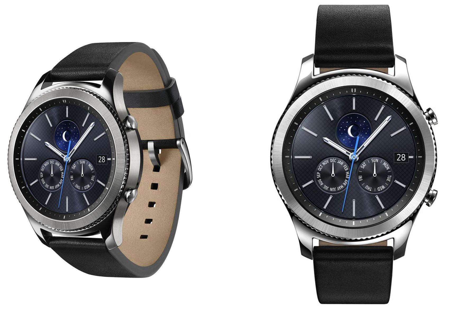 三星手表Gear S3逼格满满亮相 苹果压力更大了