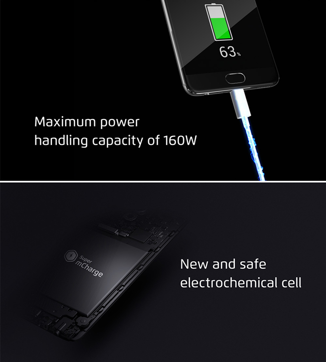 魅族发布Super mCharge快充:市面上最快 20分钟充满手机