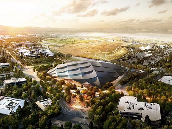 跟苹果新总部比气派!谷歌一点也不输