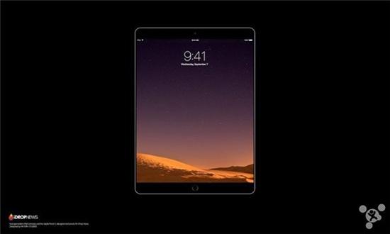 5寸苹果ipad或主打设计:采用无边框?