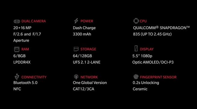 一加手机5海外亮相:8+128配置良心 国内售价成最终悬念的照片 - 9