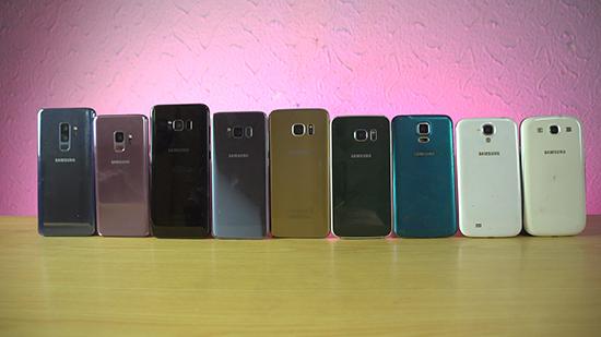 三星S9比S3强多少?Galaxy全系列性能大比拼