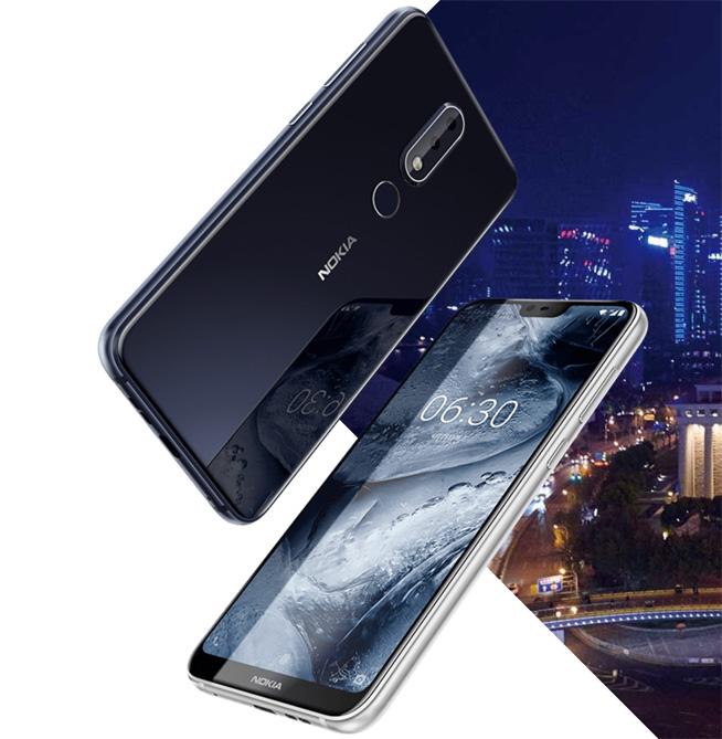 1299元起诺基亚X6发布:手感出色的平价刘海屏手机
