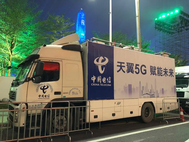 中国电信率先成功测试5G网络4K直播央视春晚