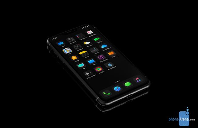 iPhone XI新曝光:iOS 13加入黑暗模式 刘海丑问题完美解决
