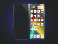 iPhone X Fold折叠概念机:惊艳不输三星华为 果粉看了忍不住